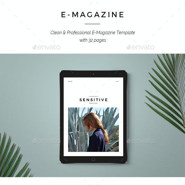 Sensitive E-Magazine