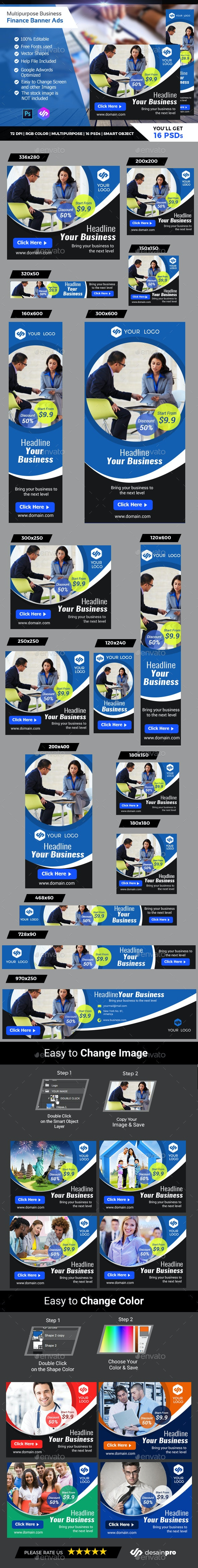 Business Banner Ads - Banners & Ads Web Elements