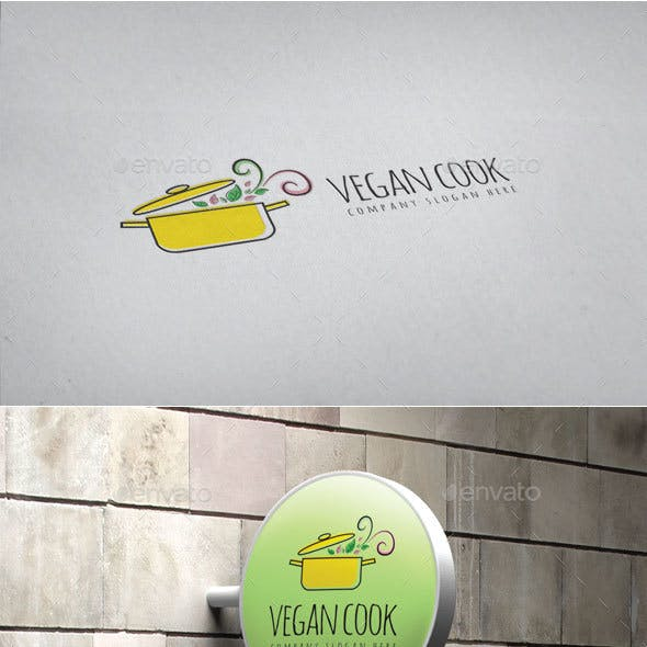 Vegan Cook Logo
