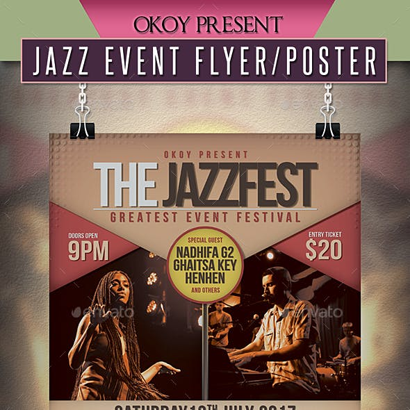 Jazz Event Flyer / Poster