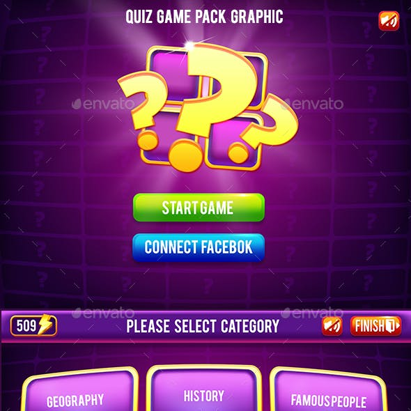 The Quiz Game Asset