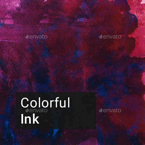 Colorful Ink Backgrounds
