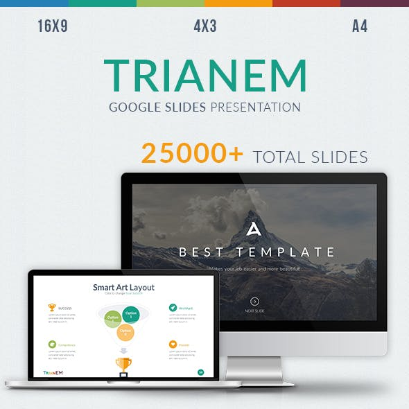 Trianem - Multipurpose Google Slides Template