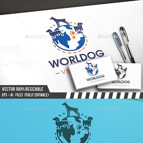 Dog Planet Logo