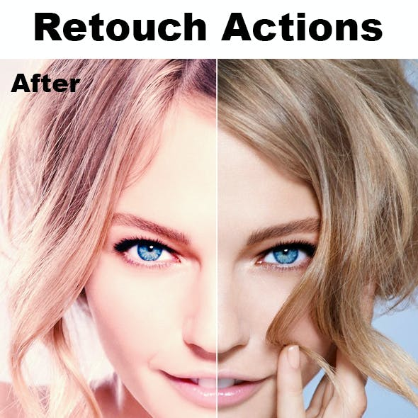 Retouch Photoshop Actions