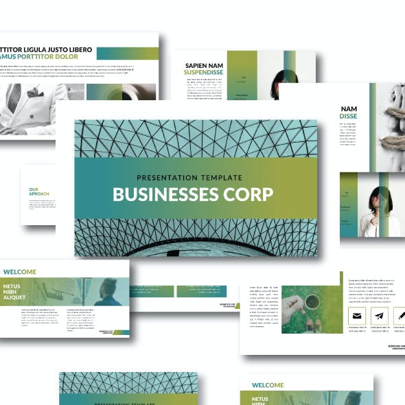 The Bussiness - Creative Keynote template