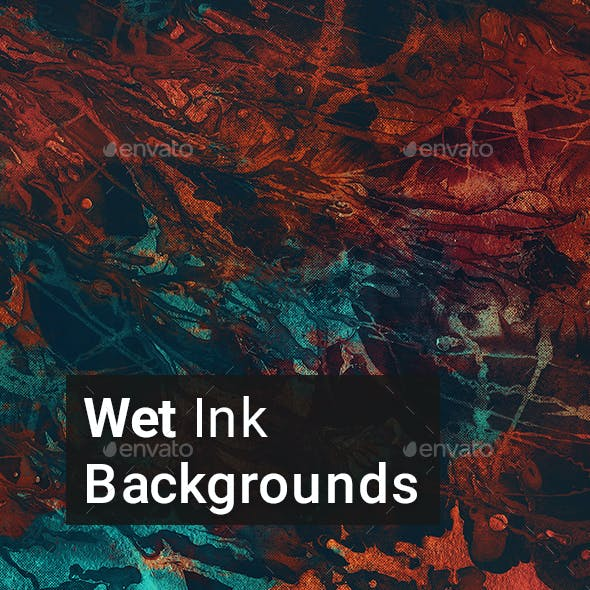 Wet Ink Backgrounds