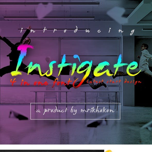 Instigate Font