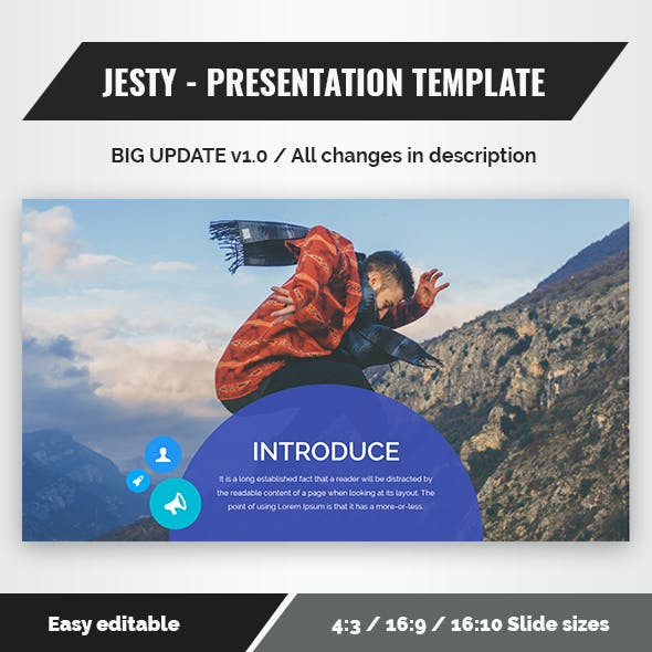 Jesty - Powerpoint Presentation Template (update v1.0)
