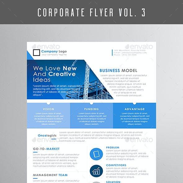 CORPORATE FLYER Vol. 3