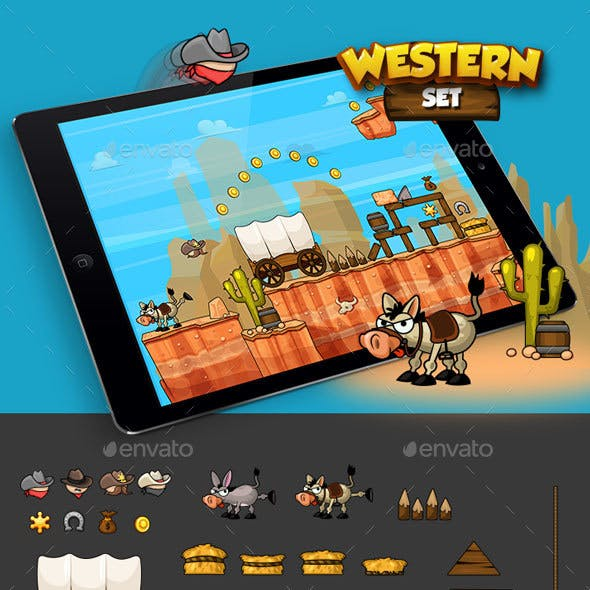 Physics Game -  Western Set