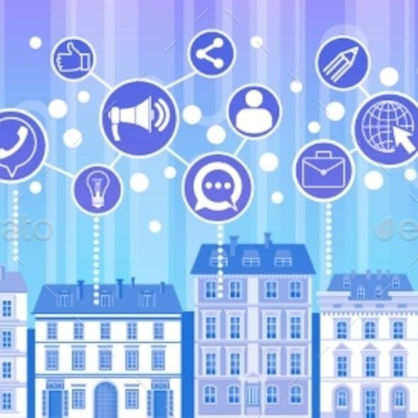 Social Media Communication Internet Network