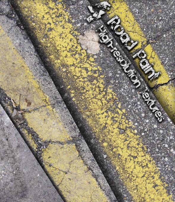 Road Paint - Industrial / Grunge Textures