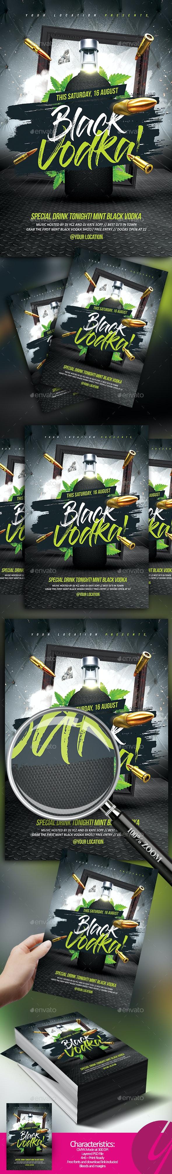 Black Mint Vodka - Clubs & Parties Events