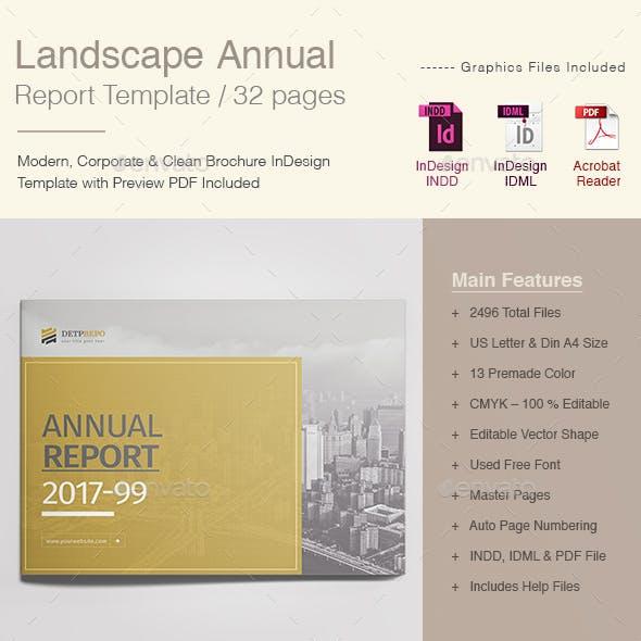 Annual Report Landscape