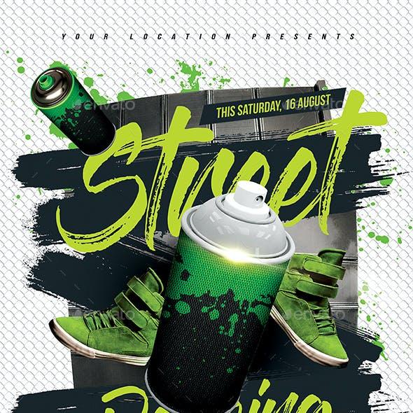 Street Dancing Flyer