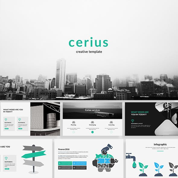Cerius Creative Powerpoint Template