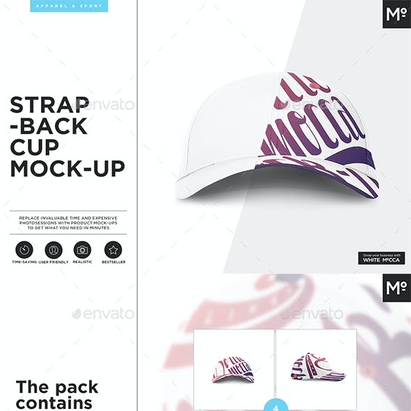 The Strapback Cap Mock-up