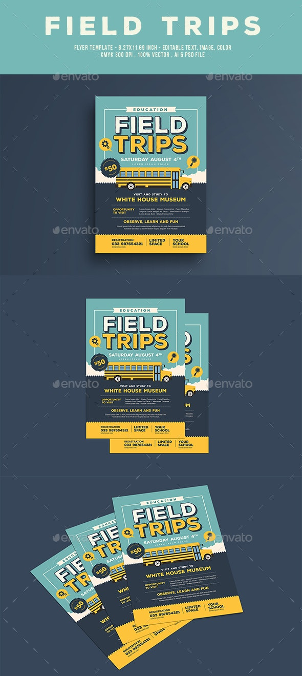 Field Trip Flyer - Miscellaneous Events