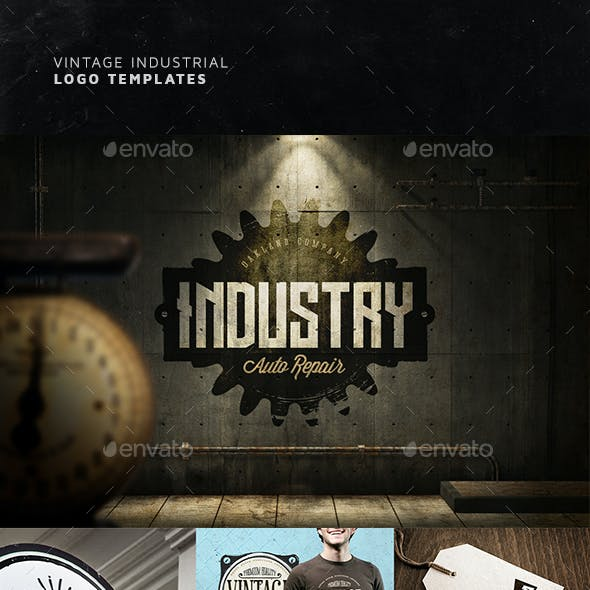 Industrial Logo Templates