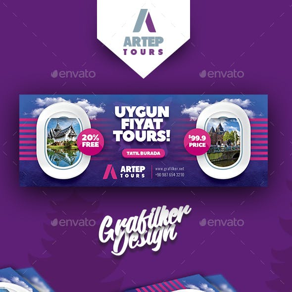 Travel Tour Cover Templates