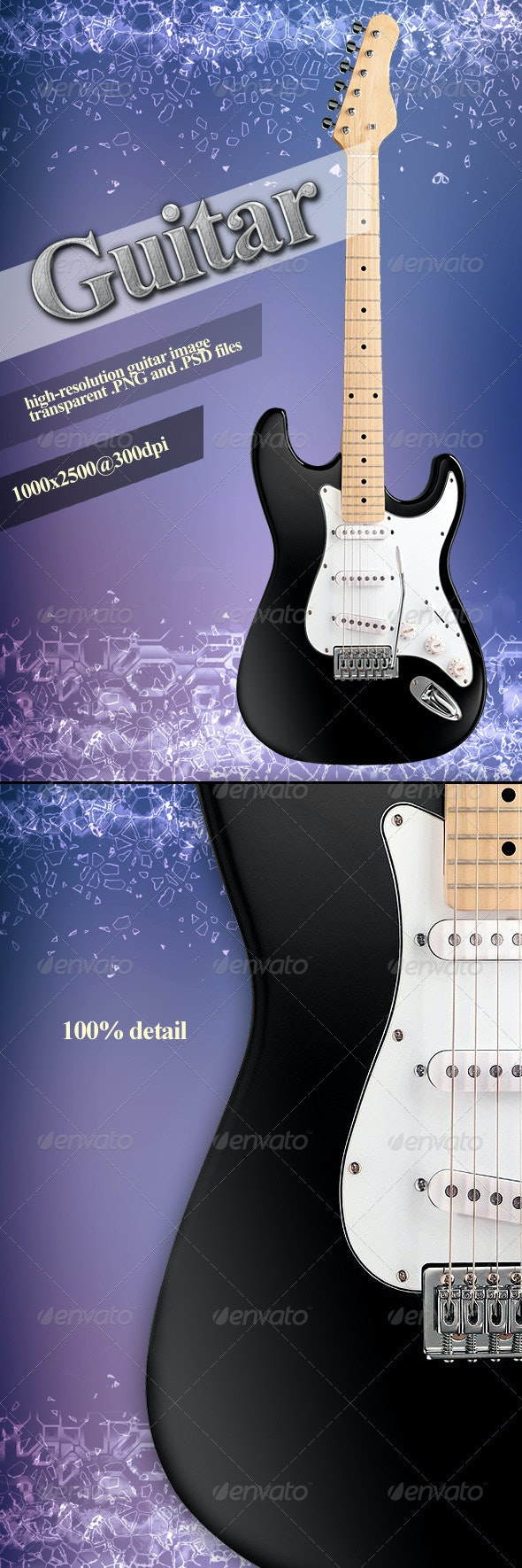 Guitar - Objects 3D Renders