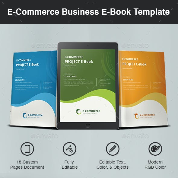 E-Commerce Business E-Book Template