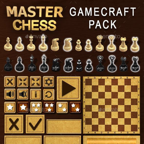 Master Chess - Game Assets