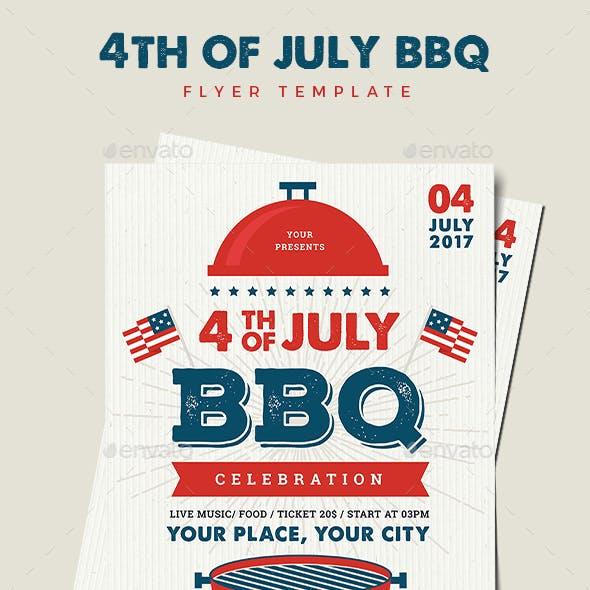 4th July BBQ Flyer