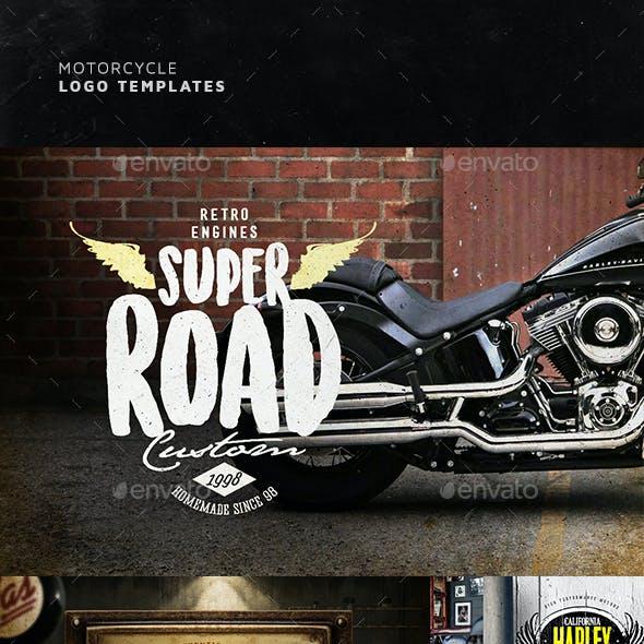 Motorcycle Logo Templates