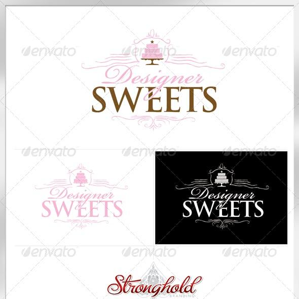 Designer Sweets Logo Template