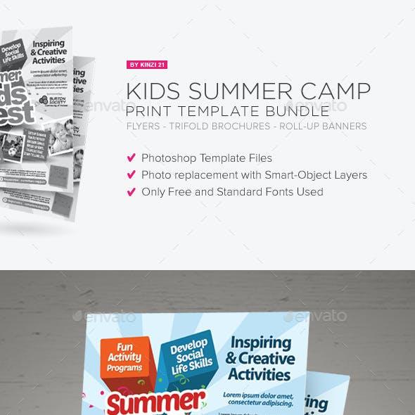 Kids Summer Camp Print Bundle