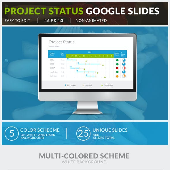 Project Status Google Slides