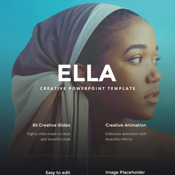 ELLA Creative PowerPoint Template