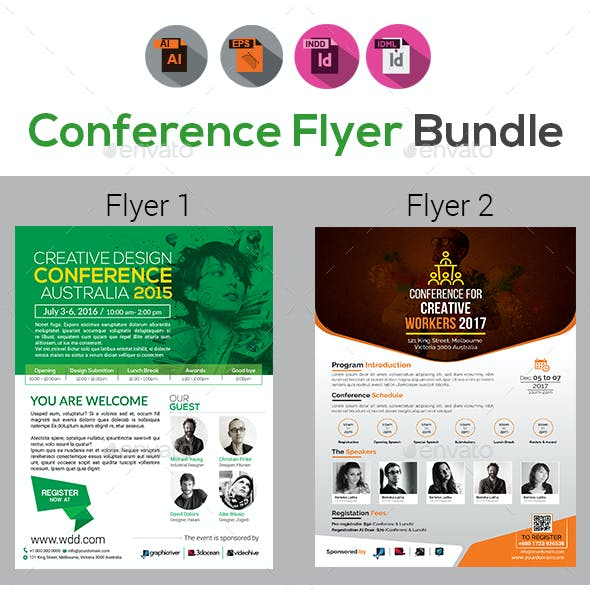 Event Summit Conference Flyer Templates