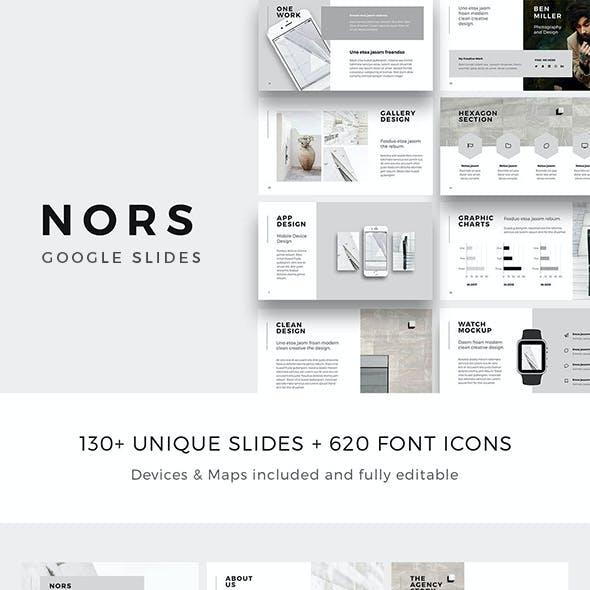 NORS - Google Slides Minimal Template