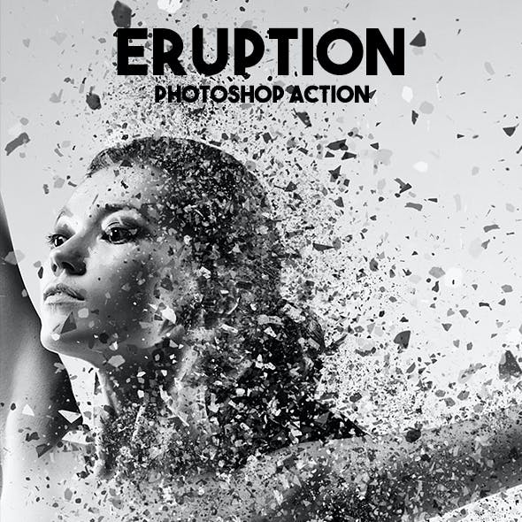 Eruption Photoshop Action