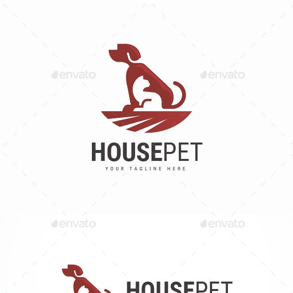 House Pet Logo