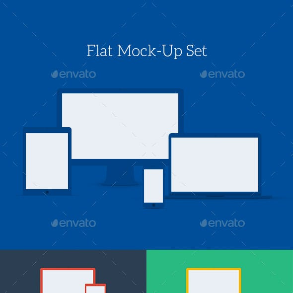 Flat Mock-Up Set