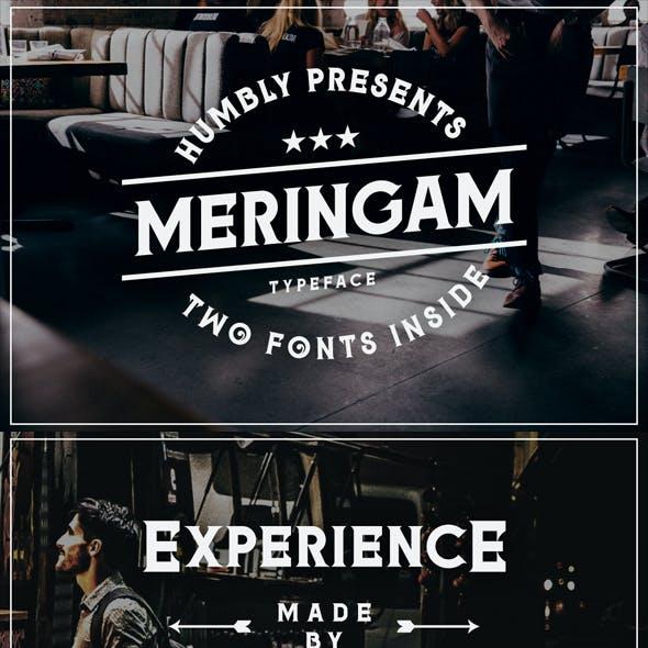 Meringam Typeface