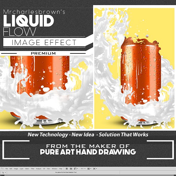 Liquid Flow Image Effect