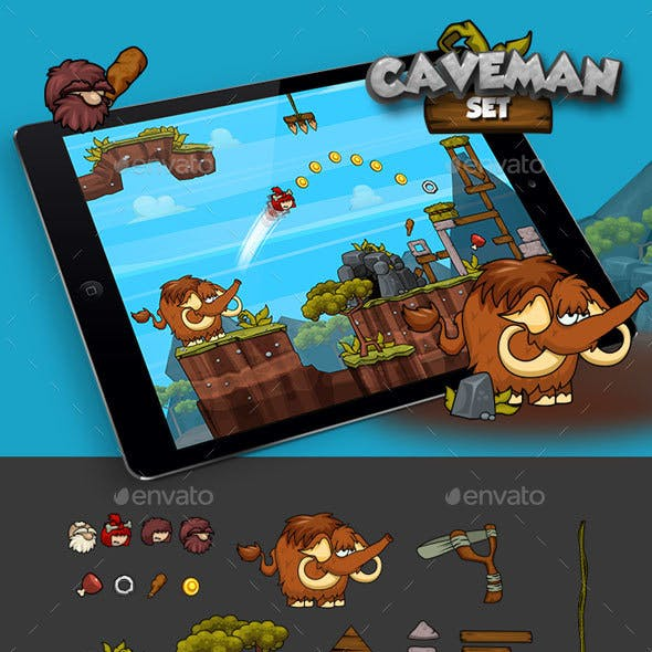 Physics Game - Caveman Set