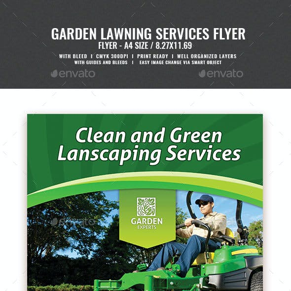 Landscaping Services Flyer