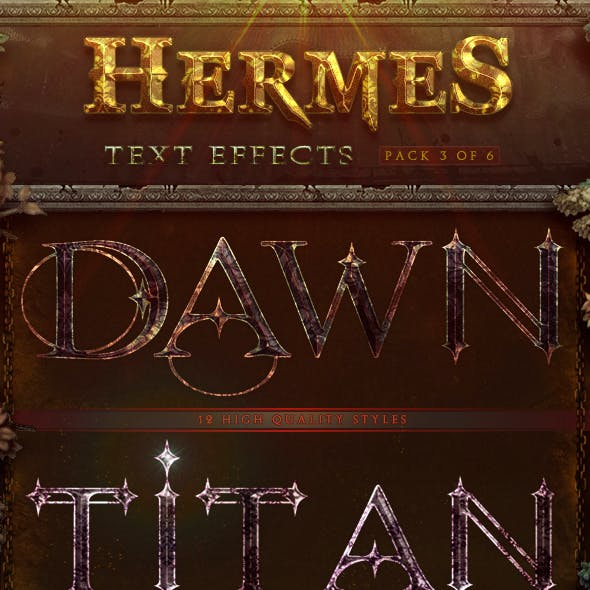Hermes Text Effects - Pack 3