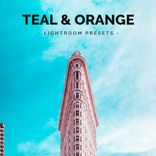 30 Teal & Orange Lightroom Presets