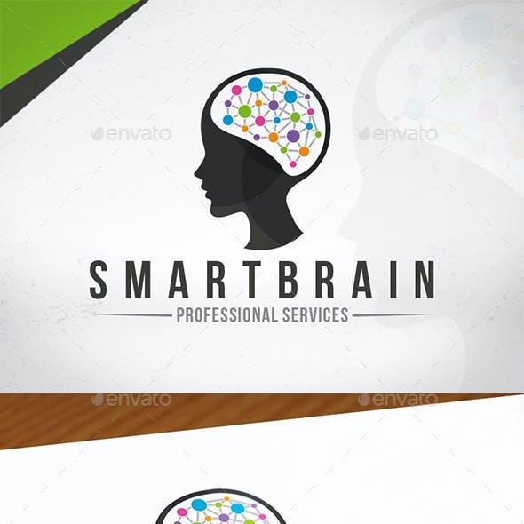 Smart Brain Creative Logo