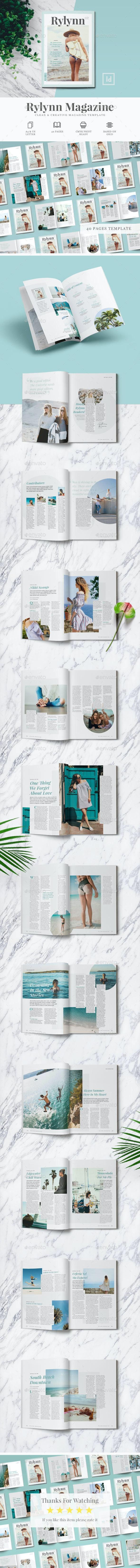 Rylynn Magazine - Magazines Print Templates