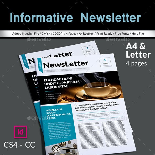 Informative Newsletter Template