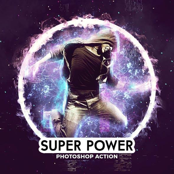 Super Power Photoshop Action