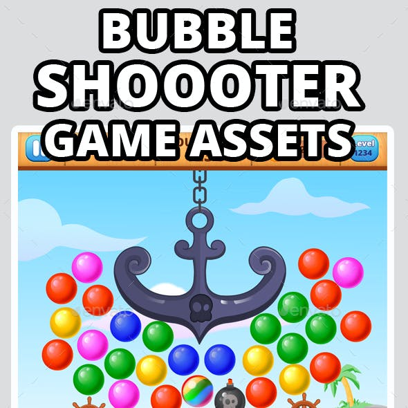 Bubble Shooter Game Assets